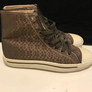 Coach Bianca hightop sneakers